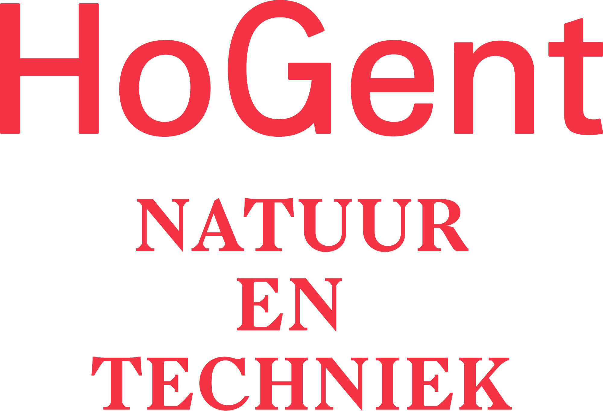 Logo HOGent Natuur en techniek